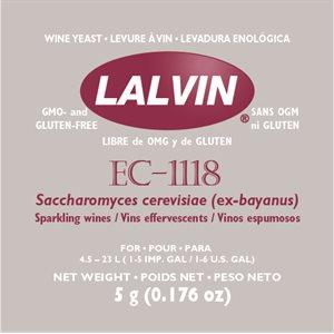 Levure Lalvin EC-1118