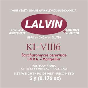 Levure Lalvin K1V-1116