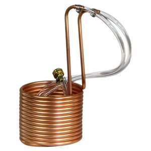 SALE $79.95 - $20 OFF. Immersion Copper Wort Chiller 25'