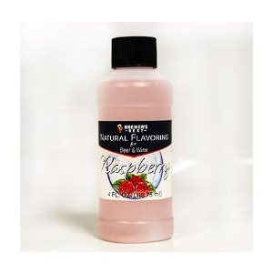 Natural Raspberry Flavouring 4 oz (118 ml)
