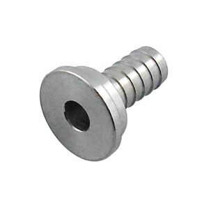"""1 / 4"""" S.S. Tailpiece (nipple) for 5 / 16"""" hose"""