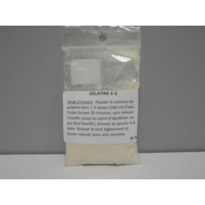 Gelatin 6 g