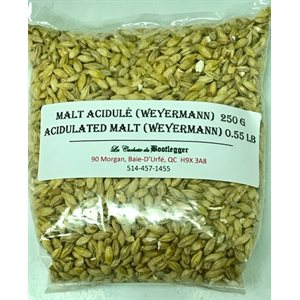 Malt acidulé 250 G (0.55 LB)